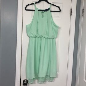 Francesca's Mint Dress